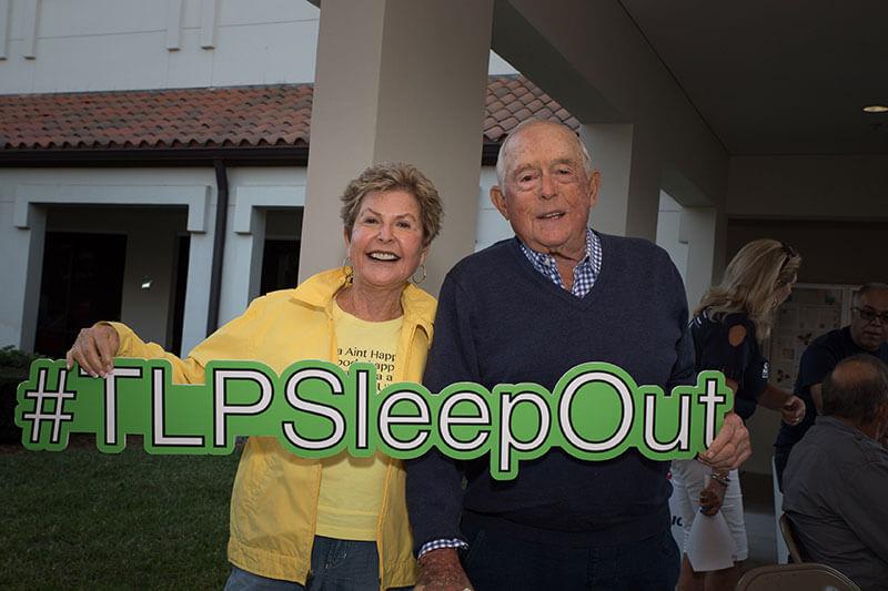 #TLPSLeepOut